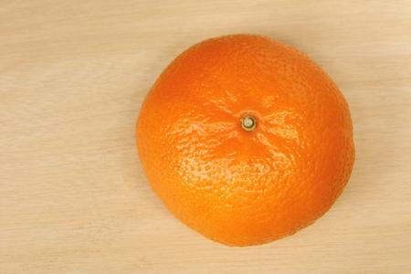navel: Close-up of Fresh Navel orange in top view Stock Photo