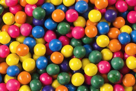 colori delle palline di gomma da masticare Archivio Fotografico
