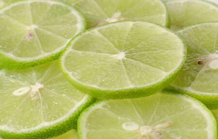 juicy and delicious green lemon