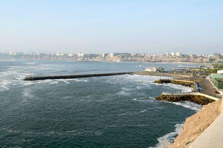 the beautiful peruvian coast by day