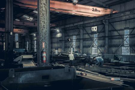 ironwork: In ironwork factory work