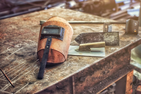 Welding iron factory