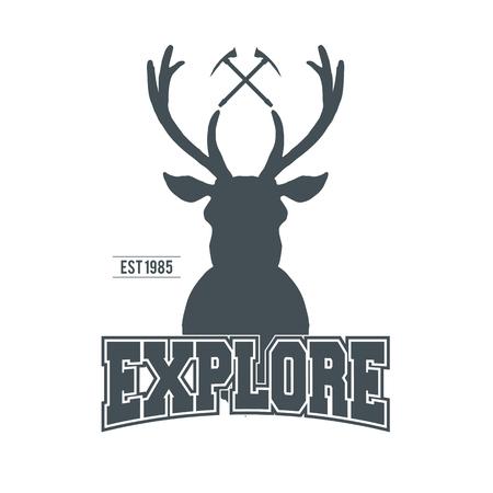 adventure vintage badge