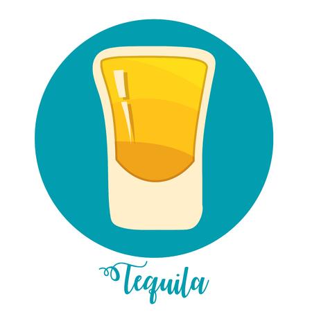 Template for Bar menu alcohol drink Vector illustration. Illustration