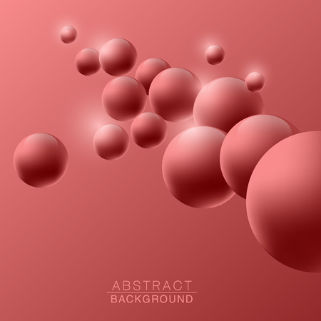 Abstract molecules design. Vector illustration 矢量图像
