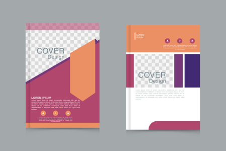Brochure ontwerp sjabloon vector. Flyers jaarverslag business magazine poster en portfolio
