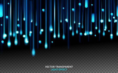 abstract vector background with lights lines. vector illustration