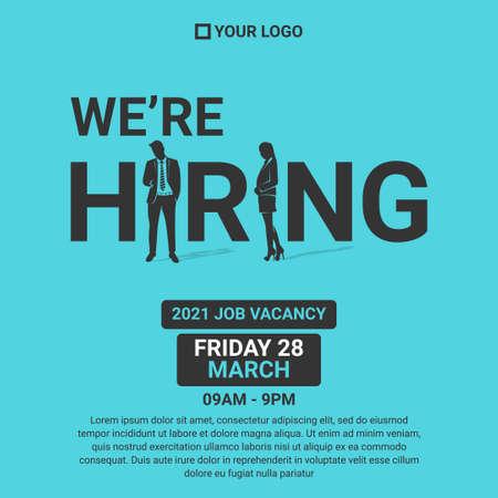 job vacancy Poster or Banner Design