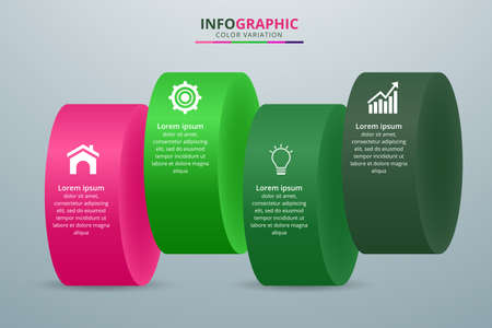Vector elements for infographic. Vector Illustration