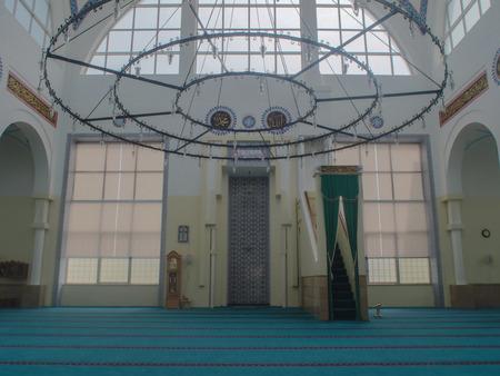 Modern Islamic Mosque in Tirana, Albania