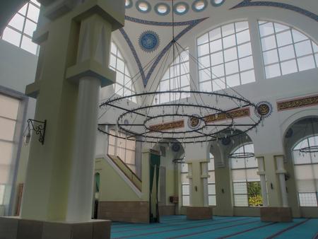 Modern Islamic Mosque in Tirana, Albania Redakční
