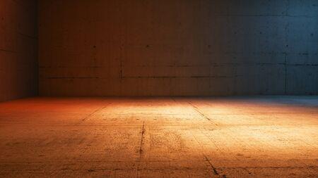 concrete room background