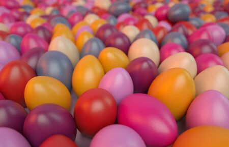 colorful eggs background