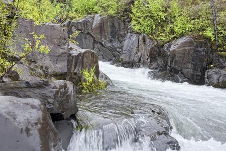 The mountain river Stock Photo - 11854657