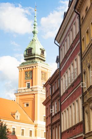 Polish famous historical place. Tourism in European.