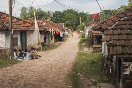 rural india: DIAMOND HARBOUR, INDIA - CIRCA NOVEMBER 2013: life in rural India circa November 2013 in Diamond Harbour. Editorial