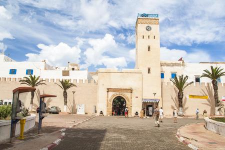 ESSAOUIRA, MOROCCO - CIRCA SEPTEMBER 2014: town of Essaouira circa September 2014 in Essaouira. Editorial