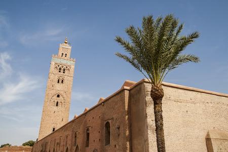 MARRAKECH, MOROCCO - CIRCA SEPTEMBER 2014: Koutoubia Mosque circa September 2014 in Marrakech. Editorial