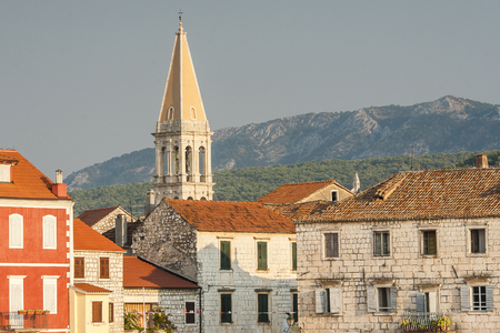 dalmatia: View of Stari Grad, a small town situated on the Croatian island of Hvar.