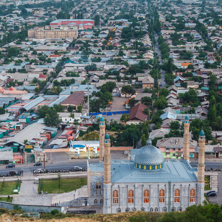 OSH, KYRGYZSTAN - CIRCA JUNE 2017: Life on streets of Osh the second largest city in Kyrgyzstan, located in the Fergana Valley in the south of the country circa June 2017 in Osh. Editorial