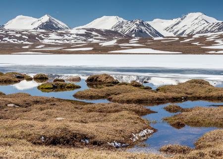 Barskoon (Arabel) Syrts at Issyk Kul Region in Kyrgyzstan