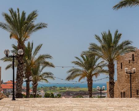 TEL AVIV, ISRAEL - CIRCA MAY 2018: Beautiful view of Tel Aviv Old Jaffa in Israel circa May 2018 in Tel Aviv. Stock Photo