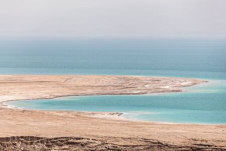Beautiful view of the Dead Sea in Israel.