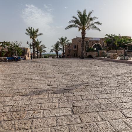 TEL AVIV, ISRAEL - CIRCA MAY 2018: Beautiful view of Tel Aviv Old Jaffa in Israel circa May 2018 in Tel Aviv. 報道画像
