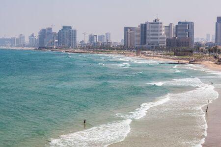 TEL AVIV, ISRAEL - CIRCA MAY 2018: Beautiful view of Tel Aviv in Israel circa May 2018 in Tel Aviv. 写真素材