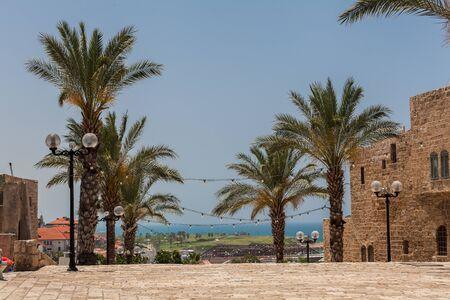 TEL AVIV, ISRAEL - CIRCA MAY 2018: Beautiful view of Tel Aviv Old Jaffa in Israel circa May 2018 in Tel Aviv. 写真素材