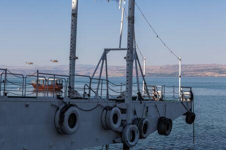GALILEE, ISRAEL - CIRCA MAY 2018: View of Sea of Galilee circa May 2018 in Galilee.