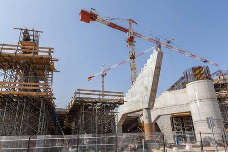 TEL AVIV, ISRAEL - CIRCA MAY 2018: View of  new Bloomfield Stadium in Tel Aviv Jaffa circa May 2018 in Tel Aviv.