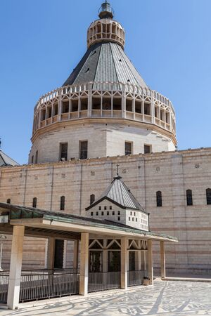he Basilica of the Annunciation in Nazareth