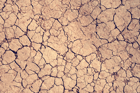 сracks texture ground surface soil, drought, dried clay,  ground on Mars