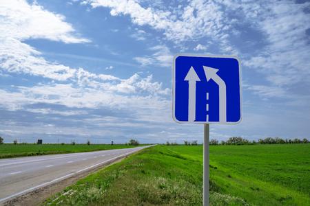 car road sign