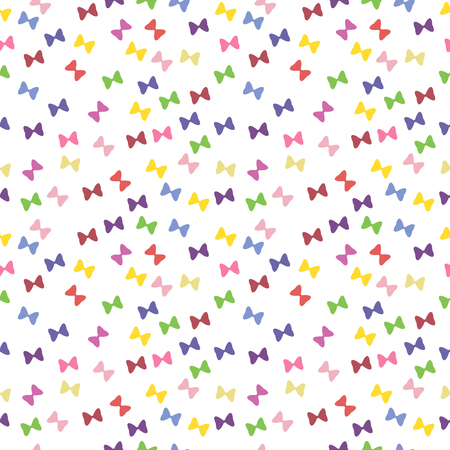 numerous: vector image with numerous small colored ribbons