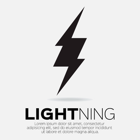 Lightning bolt icon for apps and websites