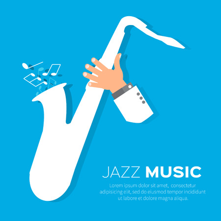 saxophonist: Sax player playing jazz music. Saxophonist. Jazz performer.