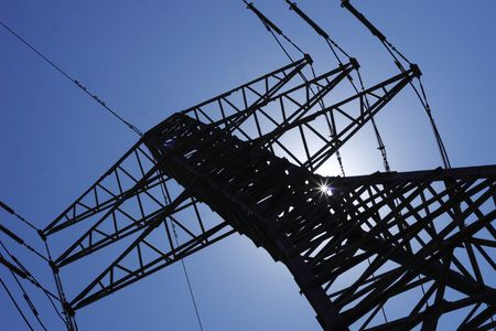 high voltage tower Stock Photo - 3406188