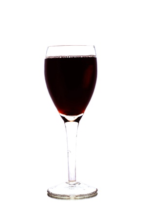 Winery goblet isolated on white background. Stock Photo