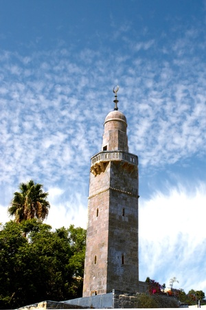 View on Minaret (beauty sky, vertical)