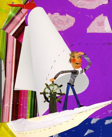 ship captain: paper ship captain