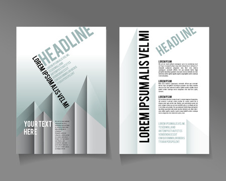 urban style: Editable A4 poster in silver urban style for design  presentation  website, magazine,  template abstract, urban style