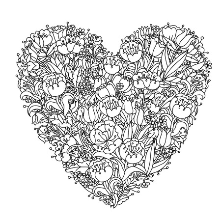 tatto: Hand drawing element. Black and white. Flower mandala style. The best for your design, textiles, posters, tattoos, corporate identity, coloring book