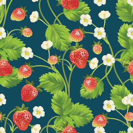 Beau fond de fraises. Banque d'images - 77814757