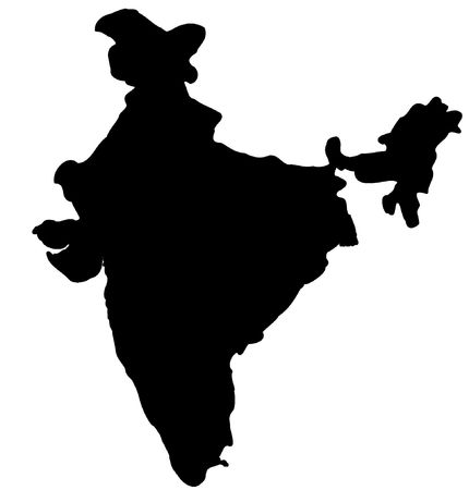 india pattern: Map of India