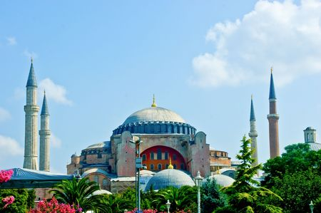 sofia: Hagia Sofia, an iconic museum in Istanbul city Stock Photo