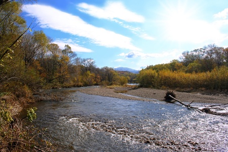 windless: Autumn stream, Primorski krai, Russia