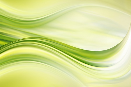 abstractly: Abstract green lines fantasy for design and back