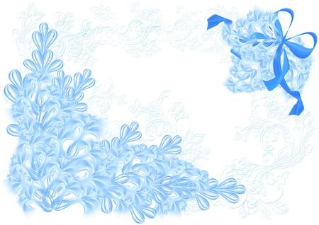 beautifu: Beautifu floral blank Stock Photo